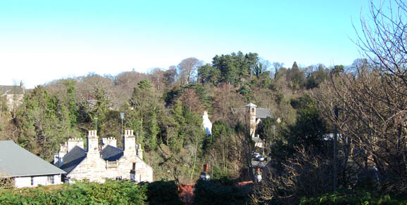 Colinton Parish Church from Bridge Road